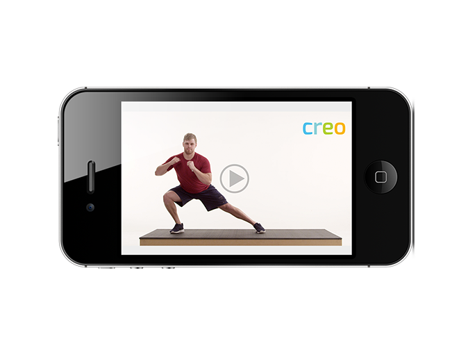 Exercise videos by Creo